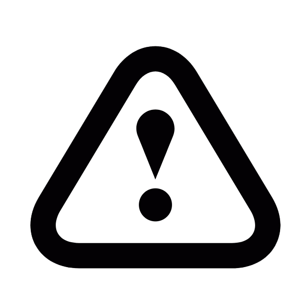 icon warning sign